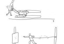 Plato Kresba s překážkami