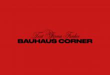 Plato Autorský vánoční strom Bauhaus Corner